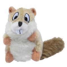 Knight Pet Furry Plush Chipmunk Dog Toy * Read more reviews of the product by visiting the link on the image.(This is an Amazon affiliate link and I receive a commission for the sales)