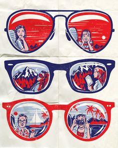 fc14e782fe window seat . vacation . holiday . glasses . flash mirror Comic Manga