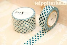Polka dot iso (petrooli) masking tape