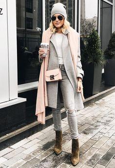 neutral color outfit details