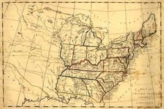 United States in Early 1800's