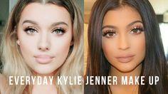Everyday Kylie Jenner Inspired Make up tutorial! | Rachel Leary
