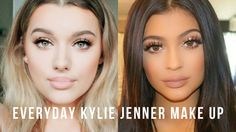 Everyday Kylie Jenner Inspired Make up tutorial! | Rachel Leary