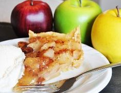 Slow Cooker Apple Caramel Pie | AllFreeSlowCookerRecipes.com