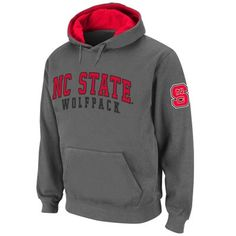 11990b0f North Carolina State Wolfpack Double Arches Pullover Hoodie - Charcoal. Nc  State ApparelChampion GearMens ...