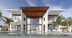 """""""green"""" residence on Bonaire Island in the Caribbean by Silberstein Architecture"""