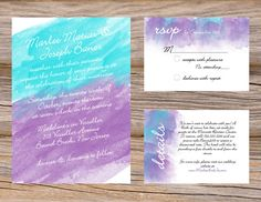 rustic green purple bohemian wedding invitation this classy sage and lime green and violet lavender purple colored invitation features a beautiful - Purple And Turquoise Wedding Invitations