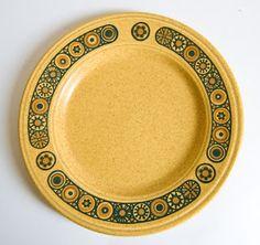 "Retro Pottery Net: Kiln Craft ""Bacchus"" Staffordshire Potteries 1972"