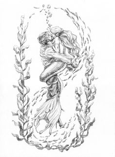 The Rescue, mermaid by artybel.deviantart. So beautiful