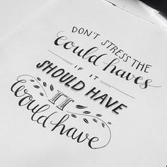 """""""And... done! My first with fineliner. #letteredquotes"""""""