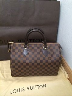 Louis Vuitton Vinted Speedy 30 Bag - Satchel $750