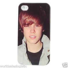 $9.95 New Super Star Justin Bieber Pattern Hard Shell Cover Case for iPhone 4/4S
