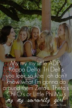 My, my, my little ADPi!
