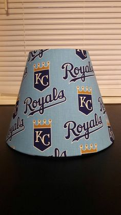 New york mets lamp shade baseball check out this item in my etsy shop httpsetsylisting487863423 kansas city royals lamp shade aloadofball