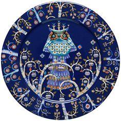Buy Iittala Blue Taika Dinner Plate, Dia.27cm Online at johnlewis.com