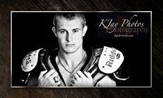 Senior Picture Football Ideas K Jay Portraits, Photography Madison WI