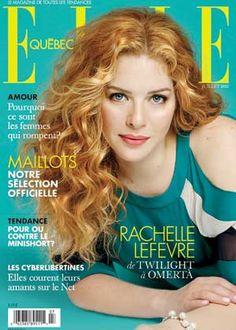Rachelle Lefevre, Juillet 2012