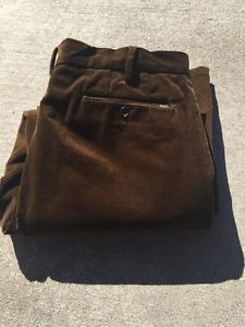 Polo Ralph Lauren Corduroys 36x30 BROWN Classic Fit Corduroy Pants Mens  | eBay