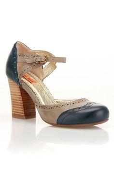 Miz Mooz Trill Shoe In Navy