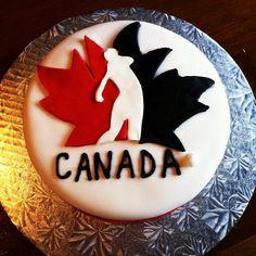Golf Canada Cake.