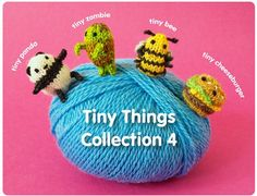 knit your own tiny cheeseburger . . . I'm dying of cute overload!!