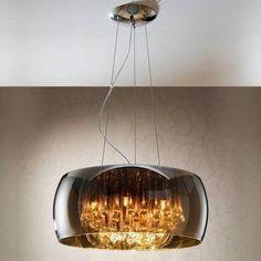 ARGOS | SCHULLER Lámpara Colgante de diseño con tulipa de cristal espejado. #iluminación #decoración