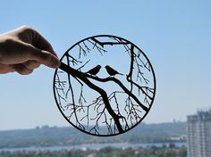*Single Sheets of Paper Form Delicate Silhouettes  - http://www.etsy.com/shop/DreamPapercut
