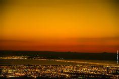 Vista noturna de Palmas/TO