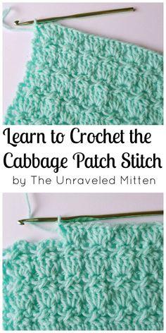 Cabbage Patch Stitch   Learn a new stitch!