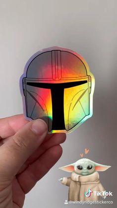 Sticker Ideas, New Sticker, Yoda Images, Cartoon Man, Ahsoka Tano, Star Wars Baby, Nerd Geek, Mandalorian, Clone Wars