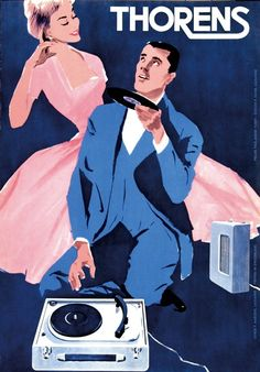 Thorens turntables, 1950 - simple dreams...