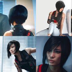 """New hairstyle idea: Faith from """"Mirror's Edge Catalyst"""""""