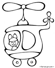 Free Printable helicopter kindergarten activities coloring pages. free online worksheets kindergarten helicopter craft to print out