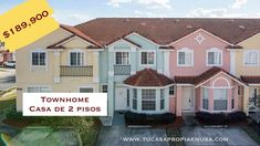 Townhome en Kissimmee, Florida. 3 hab, 2.5 baños $189,900 - YouTube Kissimmee Florida, Townhouse, Youtube, Shopping, 2nd Floor, United States, Terraced House, Youtubers, Youtube Movies