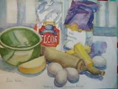 baking still life paintings - Google Search