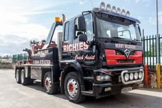 Foden Towtruck Richies Recovery Services  Daniel Tetstall