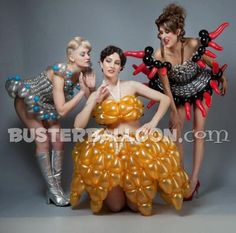 balloon dresses ...