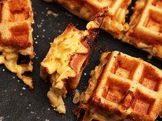 How to Make Macaroni and Cheese Waffles