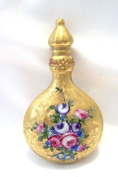 Limoge Perfume Bottle