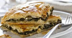 How to make Kale Farro and Mushroom Pie - prep & cook time, serving size, nutritional info, ingredients. Add recipe ingredients to your shopping list! Spinach Pie, Spinach And Cheese, Easy Dinner Recipes, Appetizer Recipes, Mushroom Pie, Pizza And More, Baking Flour, Salad Sandwich, Spanakopita