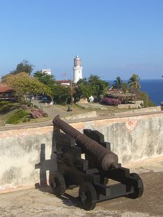 Santiago de Cuba, Castillo del Morro (view on the lighthouse with gun) - Cuba | by Sly's