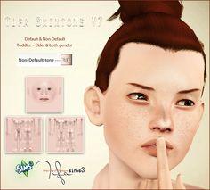 My Sims 3 Blog: Tifa Skintone V7