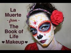 La Muerte Book of Life Face Paint Tutorial