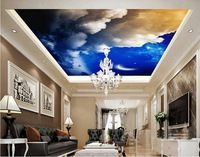 3D Lotus Leaf 753 Ceiling WallPaper Murals Wall Print Decal Deco AJ WALLPAPER
