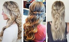 Half up, half down hairstyles are a great option for formal and casual events. They look like you've spent hours on them, but actually are super-easy to create. Also,they work for any hair length and face shape. Half updosare type of hairstyle that always elicit compliments. Soon enough, they will become your latestaddiction.Our collection of …