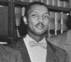 Robert Carter, a lawyer who was an integral member of the team led by Thurgood Marshall that turned to the courts to battle segregation (AP Photo/Courtesy of the NAACP)