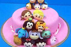 Tsum Tsum Cake - Cake Baking Classes in Singapore - LessonsGoWhere