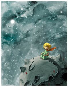 8x10 the Little Prince Fine Art color archival print by stasiab, $20.00