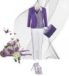 """my purple"" by ivybui on Polyvore"