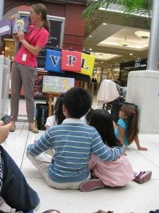 Keep it simple!! Mall Storytime